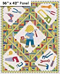 Northcott Tool Time Quilt Fabric By the Yard