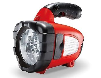 AEG 97193 Lampe à LED multifonction 3 en 1 KL 3 avec coupe-ceinture, câble de rechargement 12 V et 230 V et poignée