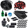 """Koram 1/4"""" Blank Distribution Tubing Irrigation Gardener's Greenhouse Plant Cooling Suite Watering Drip Repair and Expansion Kit Accessories include Universal Spigot Connector IR-2F"""