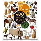 "Eyelike Stickers: On the Farm: 400 Reusable Stickers Inspired by Naturevon ""Play Bac"""