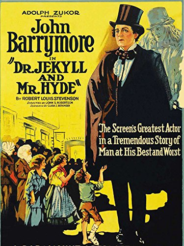 Dr. Jekyl and Mr Hyde 1920 B/W