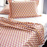 Stoa Paris  Cotton Single Dohar With 2 Pillow Covers -  Multicolour