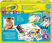 Comprar Crayola 10570 - Mi Primer Set De Colorear Y De Pegatinas