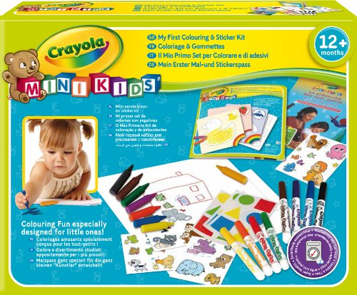 Crayola Mini Kids - Colouring and sticker kit