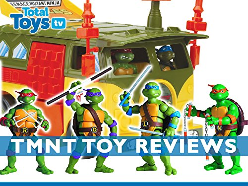 Review: Teenage Mutant Ninja Turtles Toy Reviews
