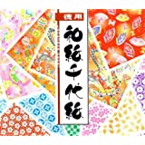 300s Japanese Chiyami origami Paper (3 inch square, one sided)