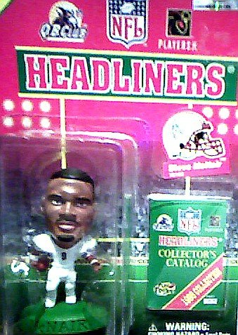 Buy Low Price Corinthian Steve McNair of the Tennessee Oilers Action Figure – 1998 Collection NFL Football Quarterback Club Headliners (B0026ZVVHI)
