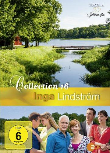 Inga Lindström Collection 16 (Wer, wenn nicht Du / Herz aus Eis / Das Geheimnis von Grispholm) [3 DVDs]