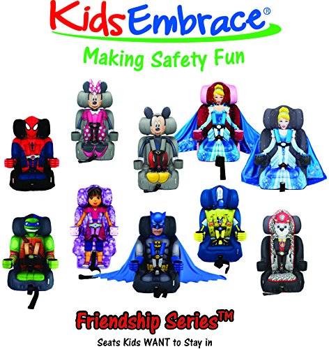 new wb kidsembrace combination toddler harness booster car seat batman deluxe 5397007048186 ebay. Black Bedroom Furniture Sets. Home Design Ideas