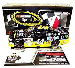 AUTOGRAPHED 2013 Tony Stewart #14 Code 3 Associates DOVER WIN (Raced Version) 1 24... by Trackside Autographs