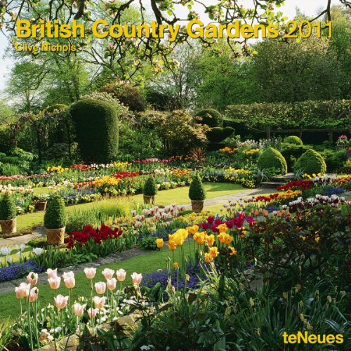 2011 British Country Gardens Wall Calendar (Square Wall Cal)