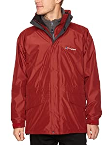 Berghaus Arctic Gemini 3 in 1 Men's Jacket - Red Spice/Grey Marl, Small (Old Version)