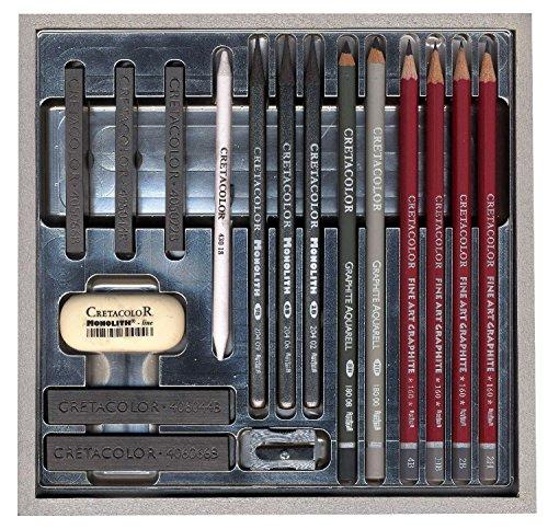 cretacolor-silver-wood-graphite-box-draw-set-by-cretacolor