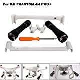 Hisoul Hot  for DJI Phantom 4/4 PRO Drone Night Light 360° Night High-Brightness LED Headlamp Lamp Light (Black) (Color: Black)