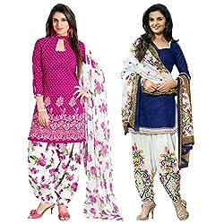 Ruaab Fashion Women Designer Dress Materials Combo(RF_AD_501)