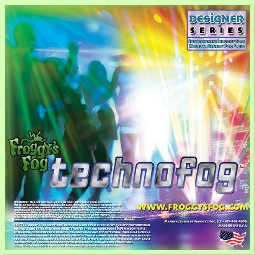 1 Gal - TechnoFog - Designer Select DJ and Club Mix Fog Machine Fluid