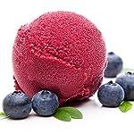 Heidelbeere Geschmack 333 g Gino Gelati Eispulver für Ihre Eismaschine