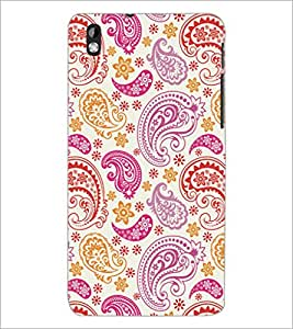 PrintDhaba Pattern D-5278 Back Case Cover for HTC DESIRE 816 (Multi-Coloured)