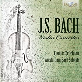 Violin Concerto D Minor, BWV 1052: I. (Without Tempo Marking) [reconstructed from the Harpsichord Concerto, BWV 1052]