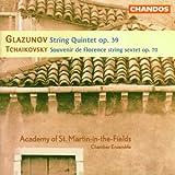 Glazunov: String Quintet, Op. 39; Tchaikovsky: Souvenir de Florence in D Op. 70
