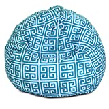 Majestic Home Goods Pacific Towers Bean Bag, Small, Turquoise