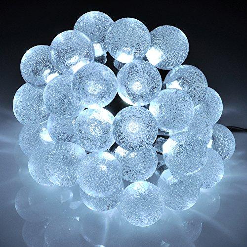 Comparamus guirlandes lumineuses d 39 ext rieur 20 led for Guirlande lumineuse exterieur solaire