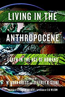 Book Cover: Living in the Anthropocene: Earth in the Age of Humans