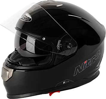 NITRO 108916S00 Casque Moto NP-1100 Apex Noir
