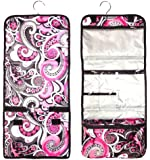 Large & Small Hanging Toiletry Cosmetic Makeup Travel Bag Back to School Essential Supplies TravelNut® Travelers Gift Ideas for Women Girls Teens