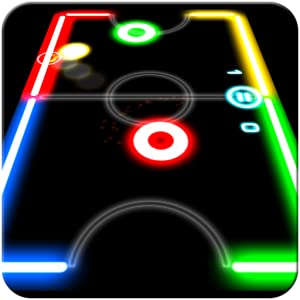 Glow Hockey by Natenai Ariyatrakool