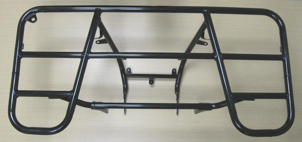 New 2006-2014 Honda TRX 680 TRX680 Rincon ATV OE Rear Rack - Black black throttle base cover carburetor for honda trx350 atv carburetor trx 350 rancher 350es fe fmte tm carb 2000 2006