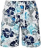 HEMOON Homme Short de bain - Pantalon Court de Sport/ Plage/ Beach Bermudas Trendy Motif Plaid