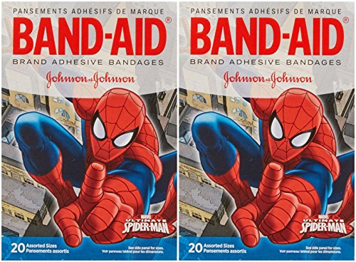Band-Aid Spiderman Bandages - 20 ct - 2 pk