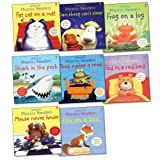 Various Usborne Phonics Readers Pack, 8 books, RRP £39.92 (Fat Cat on a Mat; Fox on a Box; Frog on a Log; Mouse Moves House; Sam Sheep Can't Sleep; Shark in the Park; Ted in a Red Bed; Toad Makes a Road).