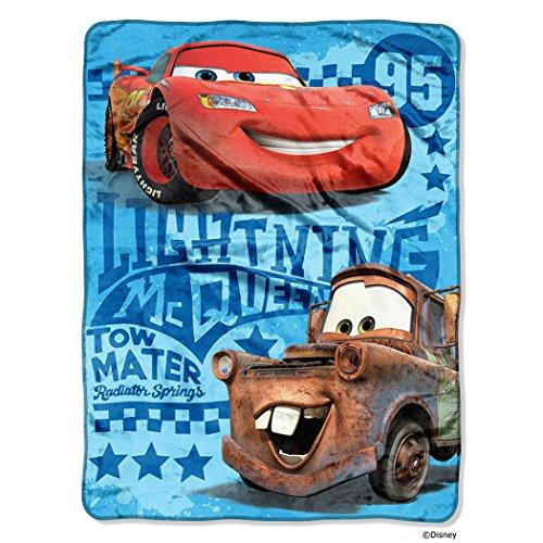 Disney Pixar's Cars 2 Buddy Racers Micro Raschel Throw, 46 by 60