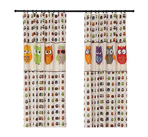 Owl Curtains For Nursery