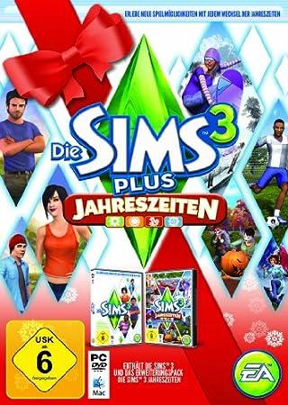 Die Sims 3 + Jahreszeiten (Holiday Edition) (PC+MAC)