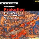 Prokofiev: Symphonies, No. 1& 5 [2 CD]
