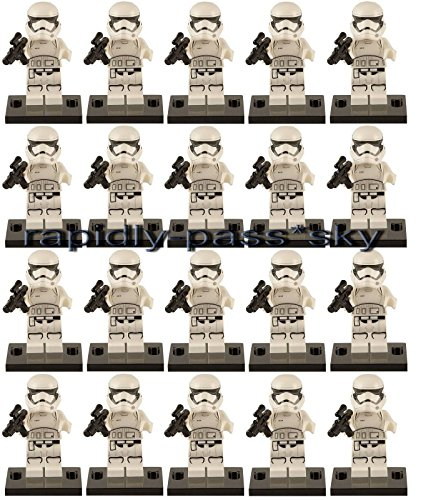 20pcs (Stormtrooper Costumes Dress Up Set)