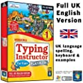 Typing Instructor for Kids 5 Platinum (UK English Version)(PC CD-ROM)