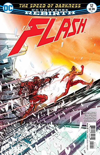 DC Universe Rebirth Flash Cover