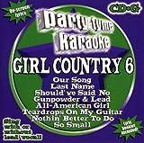 echange, troc Karaoke - Party Tyme Karaoke: Girl Country, Vol. 6