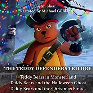 The Teddy Defenders Trilogy Audiobook
