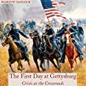 First Day at Gettysburg: Crisis at the Crossroads Audiobook by Warren W. Hassler, Jr. Narrated by Gregg A. Rizzo
