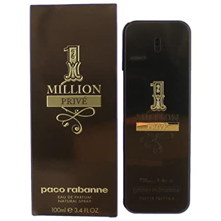 PACO RABANNE 1 MILLION PRIVE Eau De Parfum Spray FOR MEN 3.4 Oz / 100 ml at amazon