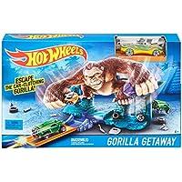 Hot Wheels Boys Gorilla Getaway Track Set