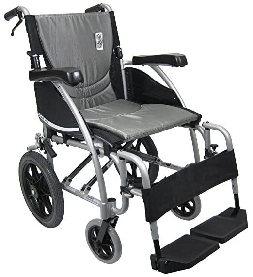 since transport chairs are designed to be very lightweight they are very easy to push for caregivers without exerting too much energy