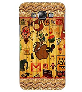 PrintDhaba Graffiti D-5684 Back Case Cover for SAMSUNG GALAXY GRAND MAX (Multi-Coloured)
