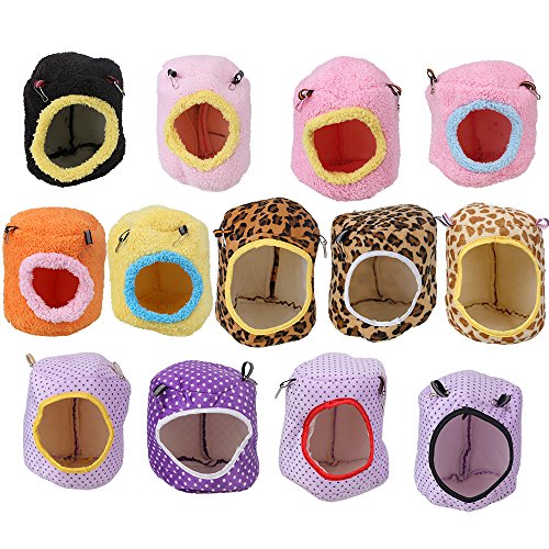 BQLZR Hammock Hanging Bed Nest House Pet Rat Hamster Parrot Squirrel Toy 5.91 x 5.91″ 61j2ILyVS9L