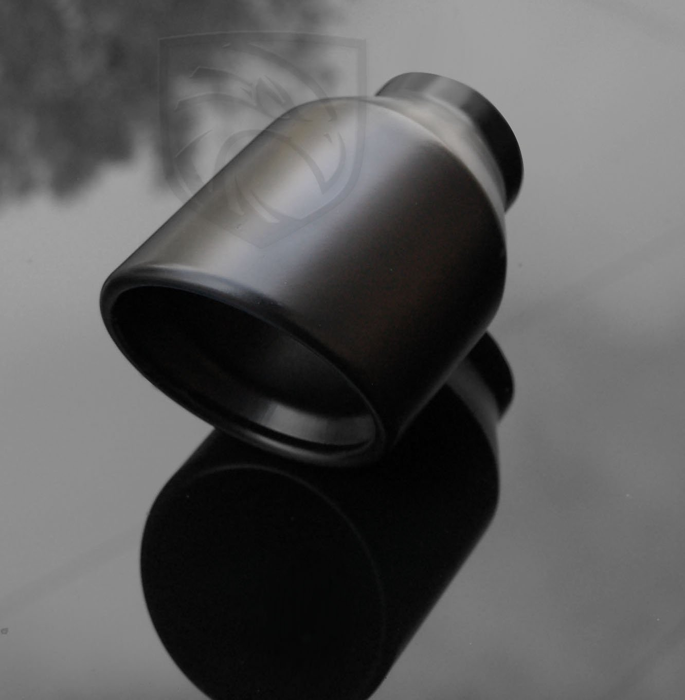 Gloss Black Ceramic Coating Exhaust Black Powder Coated Exhaust